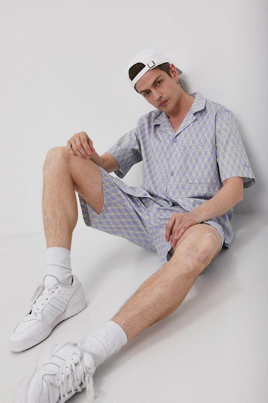winogronowy adidas Originals - Koszula bawełniana Męski