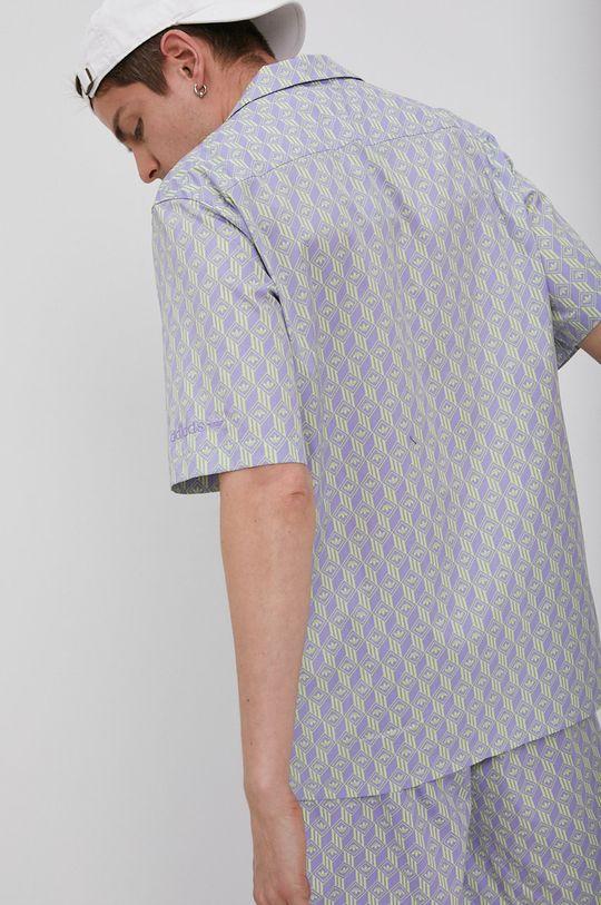 winogronowy adidas Originals - Koszula bawełniana