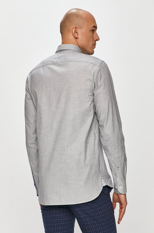 szary Tommy Hilfiger - Koszula bawełniana
