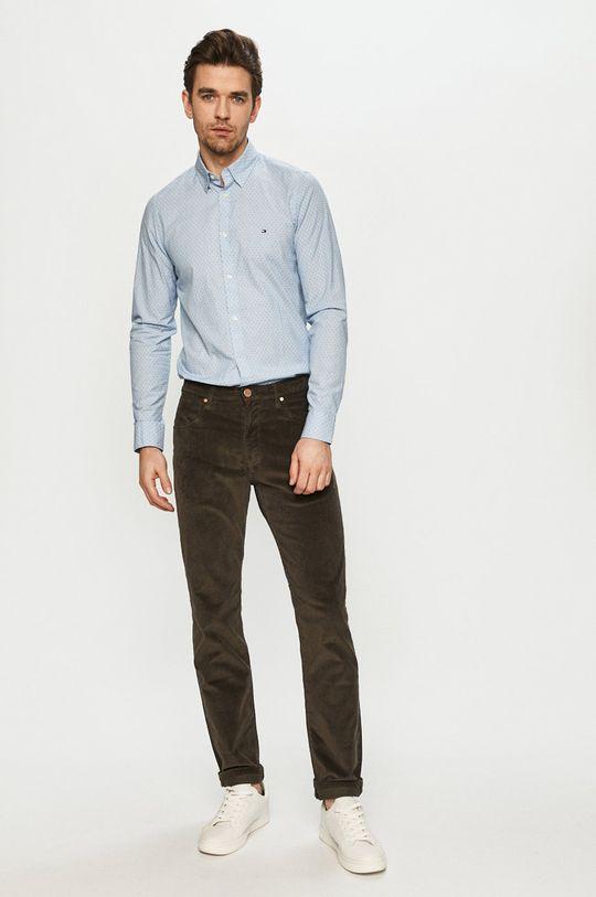 Tommy Hilfiger - Bavlnená košeľa  100% Organická bavlna