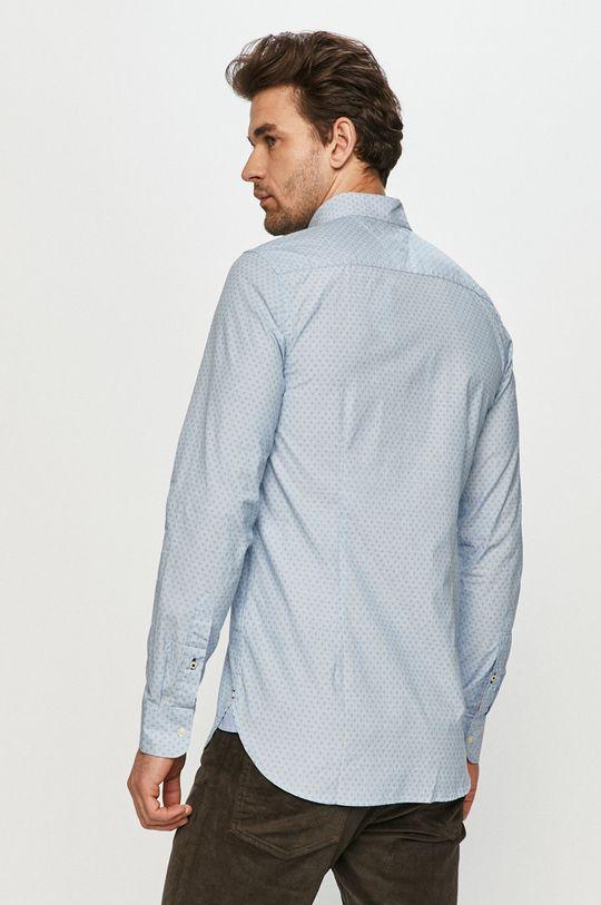bledomodrá Tommy Hilfiger - Bavlnená košeľa