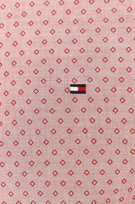 Tommy Hilfiger - Koszula bawełniana czerwony