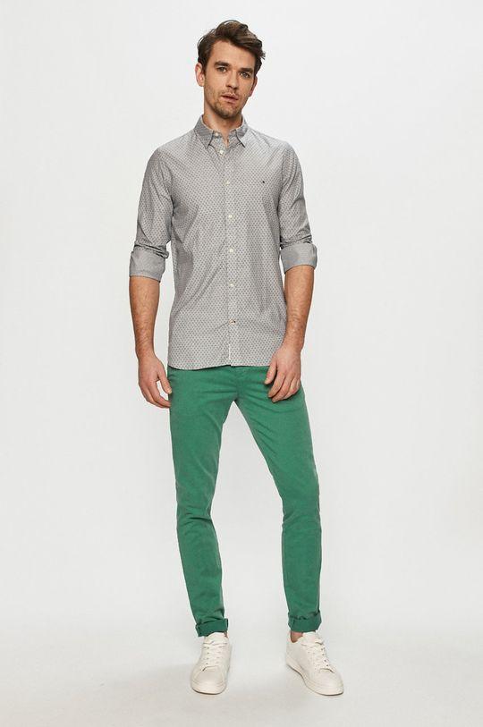 Tommy Hilfiger - Koszula bawełniana 100 % Bawełna organiczna