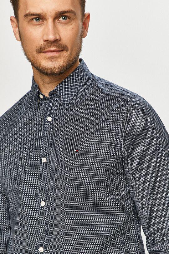 granatowy Tommy Hilfiger - Koszula Męski