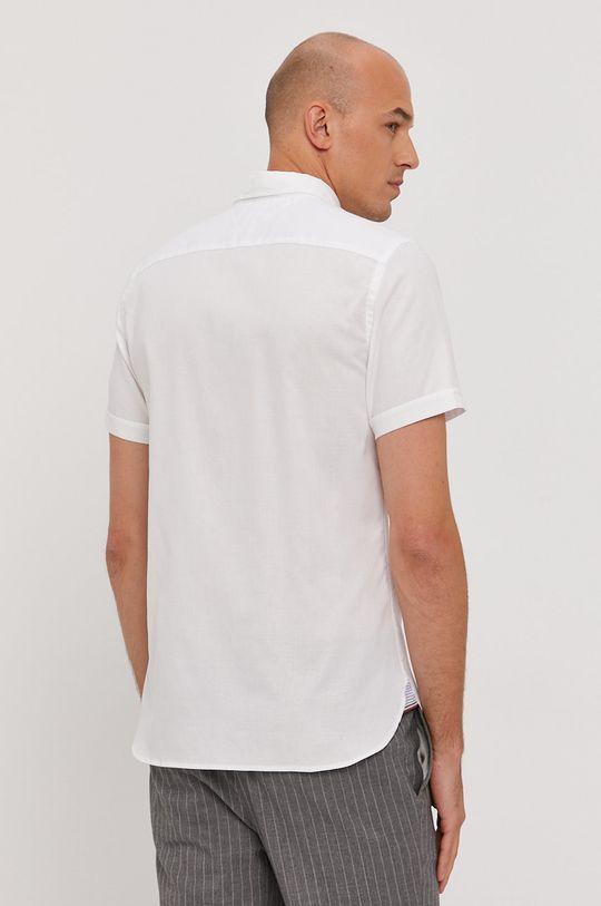biela Tommy Hilfiger - Bavlnená košeľa