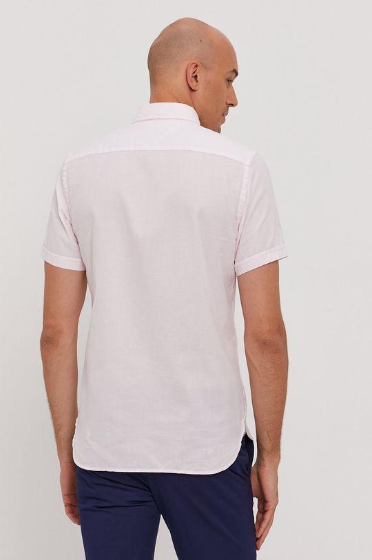 pastelová ružová Tommy Hilfiger - Bavlnená košeľa