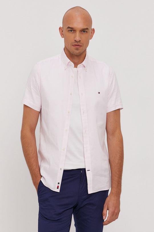 Tommy Hilfiger - Bavlnená košeľa Pánsky