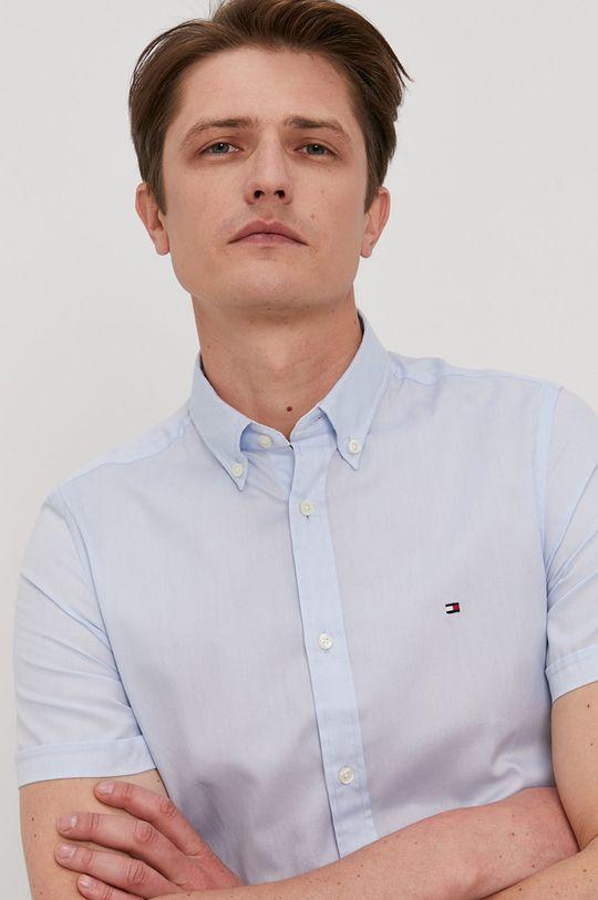 jasny niebieski Tommy Hilfiger - Koszula bawełniana Męski