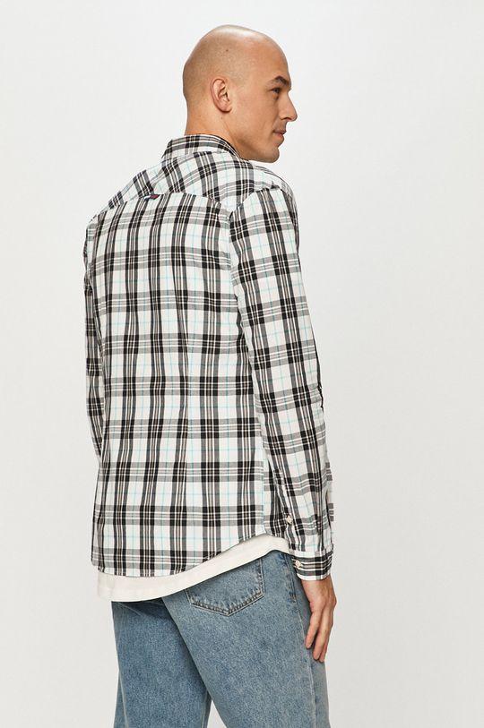 bílá Tommy Jeans - Bavlněné tričko