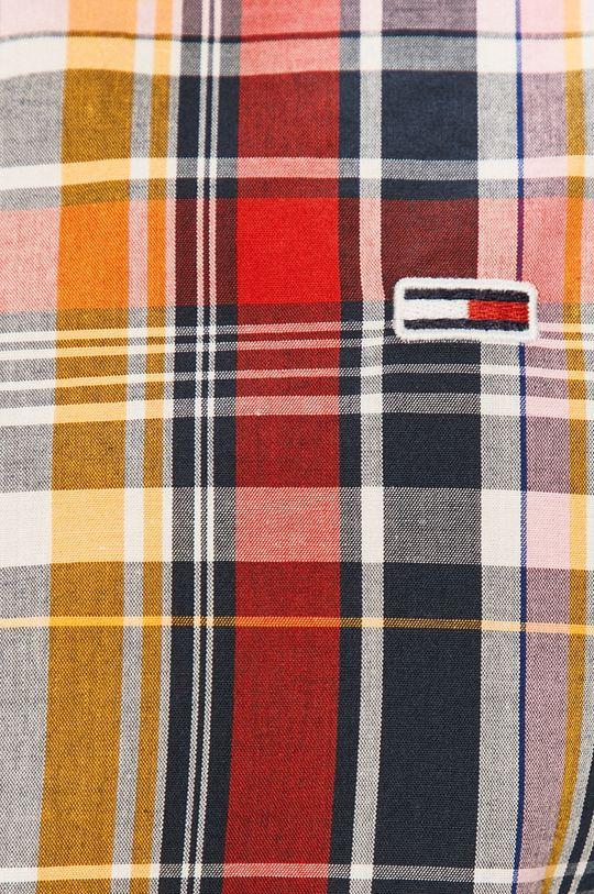 Tommy Jeans - Koszula bawełniana granatowy