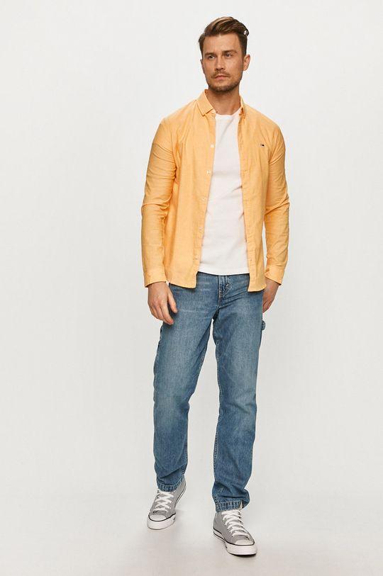 Tommy Jeans - Košeľa  98% Bavlna, 2% Elastan