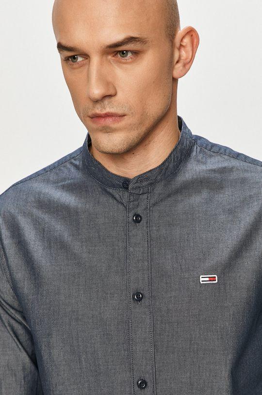 granatowy Tommy Jeans - Koszula Męski