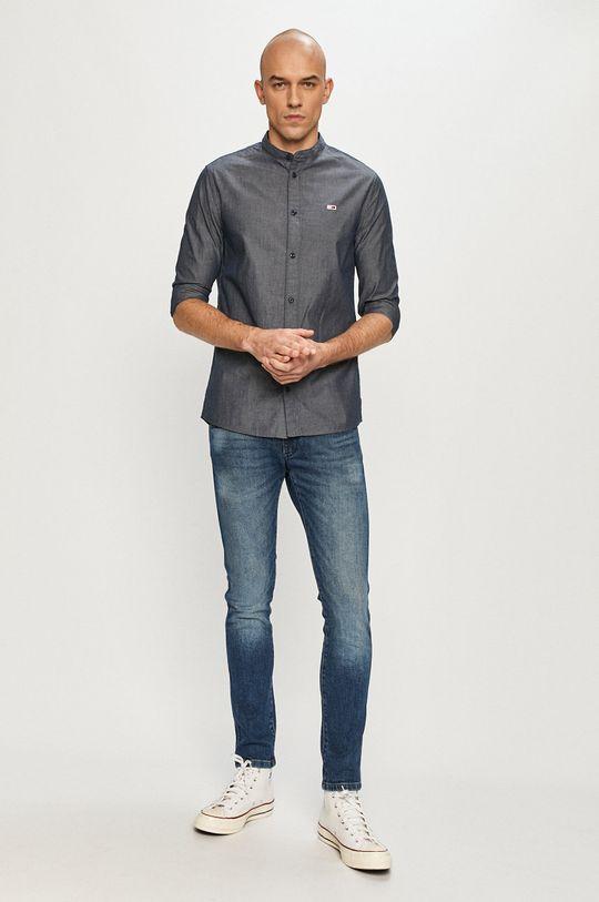 Tommy Jeans - Koszula 100 % Bawełna organiczna