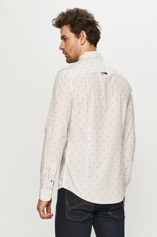 biały Tommy Jeans - Koszula bawełniana