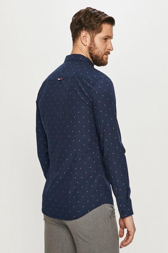 tmavomodrá Tommy Jeans - Bavlnená košeľa
