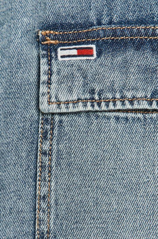 Tommy Jeans - Koszula jeansowa niebieski
