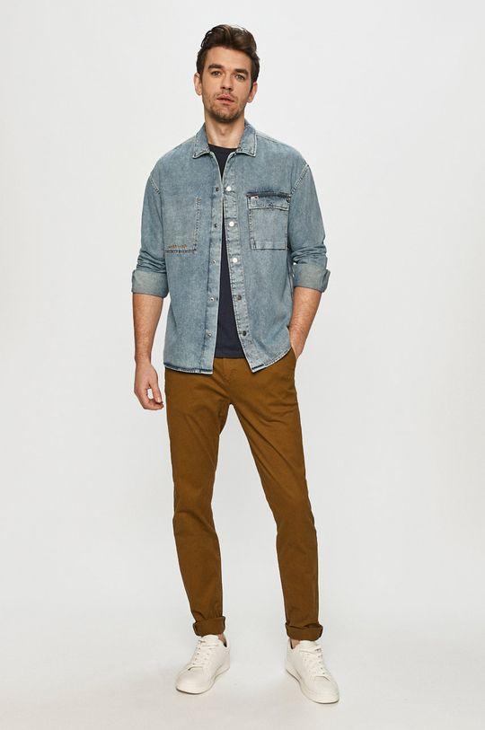 Tommy Jeans - Koszula jeansowa 100 % Bawełna organiczna