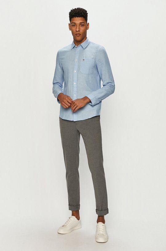 Tommy Jeans - Košile  57% Bavlna, 43% Len