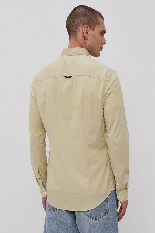 světle zelená Tommy Jeans - Bavlněná košile