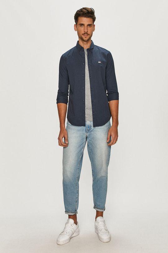 Tommy Jeans - Koszula bawełniana 100 % Bawełna organiczna