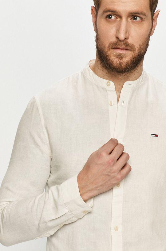 biela Tommy Jeans - Košeľa Pánsky