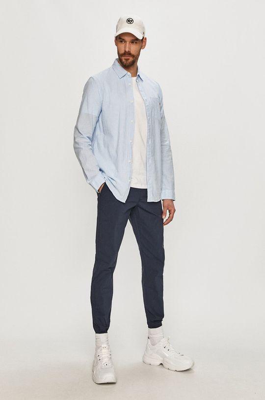 Tommy Jeans - Bavlněná košile  100% Organická bavlna