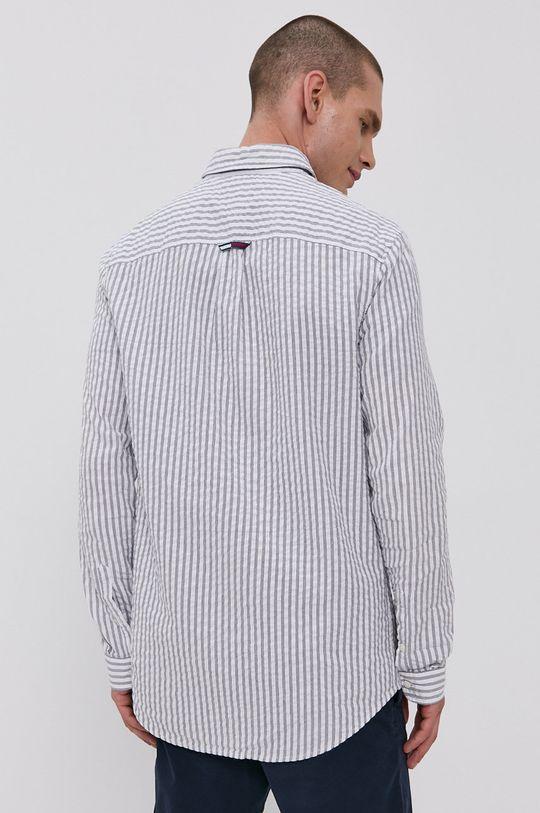 námořnická modř Tommy Jeans - Bavlněná košile