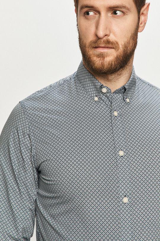 biały Selected - Koszula bawełniana Męski