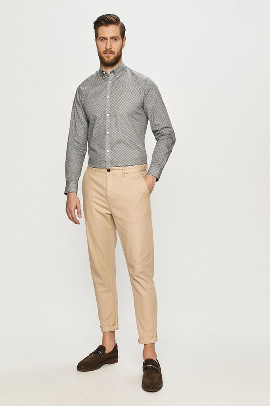 Selected - Koszula bawełniana 100 % Bawełna