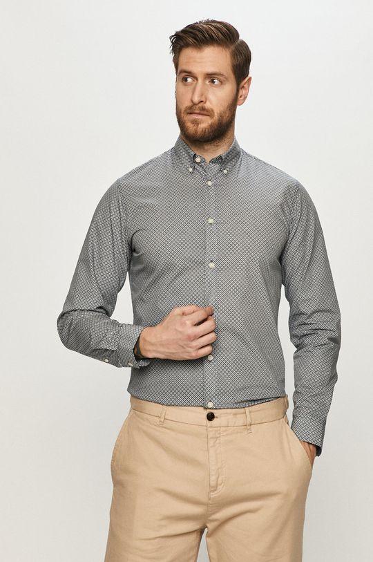 Selected - Koszula bawełniana Męski