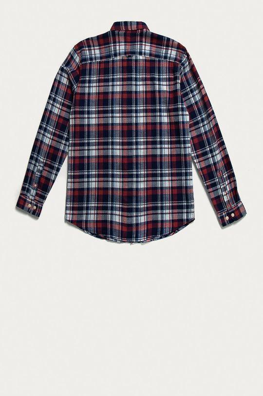 Selected - Bavlněné tričko červená