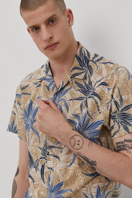 beżowy Produkt by Jack & Jones - Koszula Męski