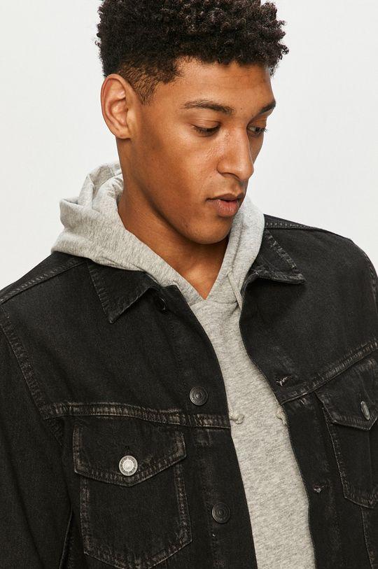 černá Produkt by Jack & Jones - Džínová bunda Pánský