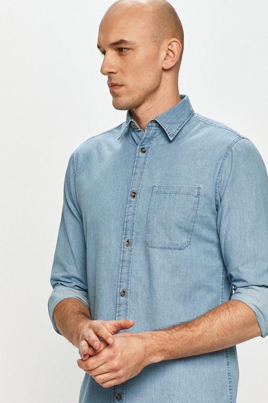 niebieski Produkt by Jack & Jones - Koszula jeansowa Męski