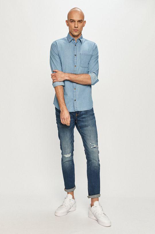 Produkt by Jack & Jones - Koszula jeansowa 100 % Bawełna