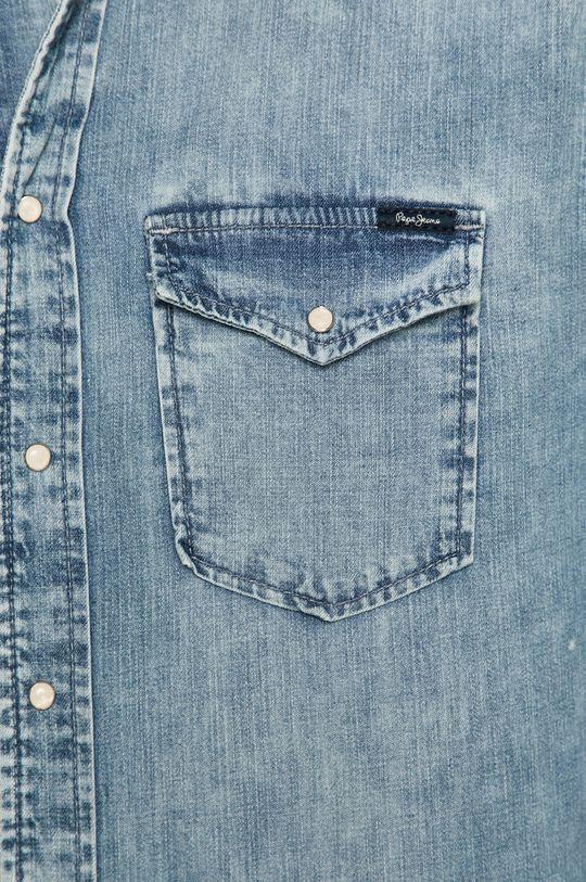 Pepe Jeans - Koszula jeansowa niebieski