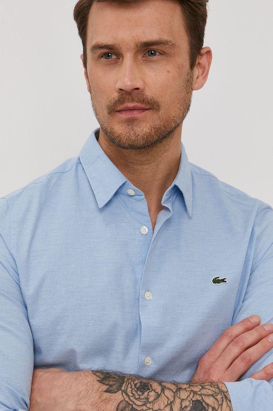 jasny niebieski Lacoste - Koszula Męski