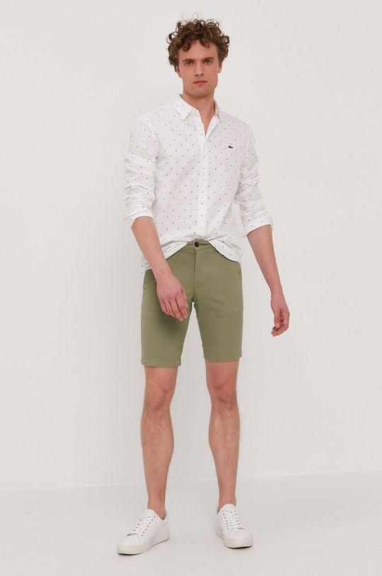 Lacoste - Bavlnená košeľa  100% Bavlna