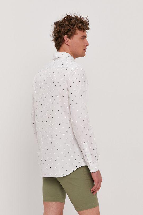 biela Lacoste - Bavlnená košeľa