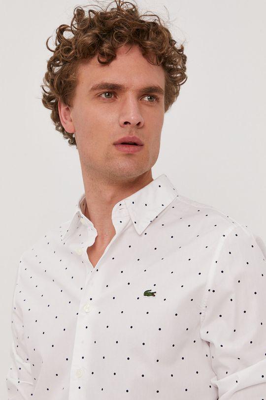 Lacoste - Bavlnená košeľa Pánsky