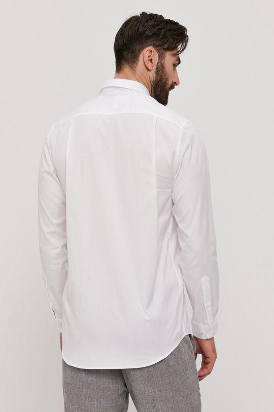 biały Lacoste - Koszula bawełniana