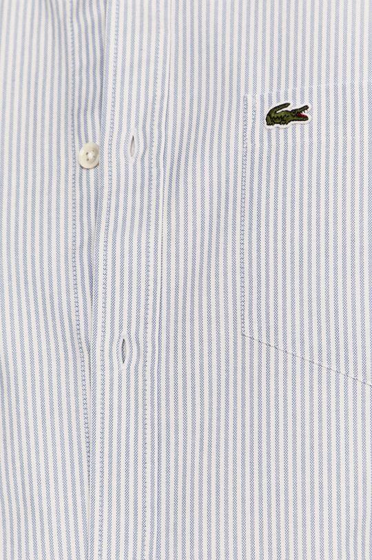 Lacoste - Koszula bawełniana blady niebieski