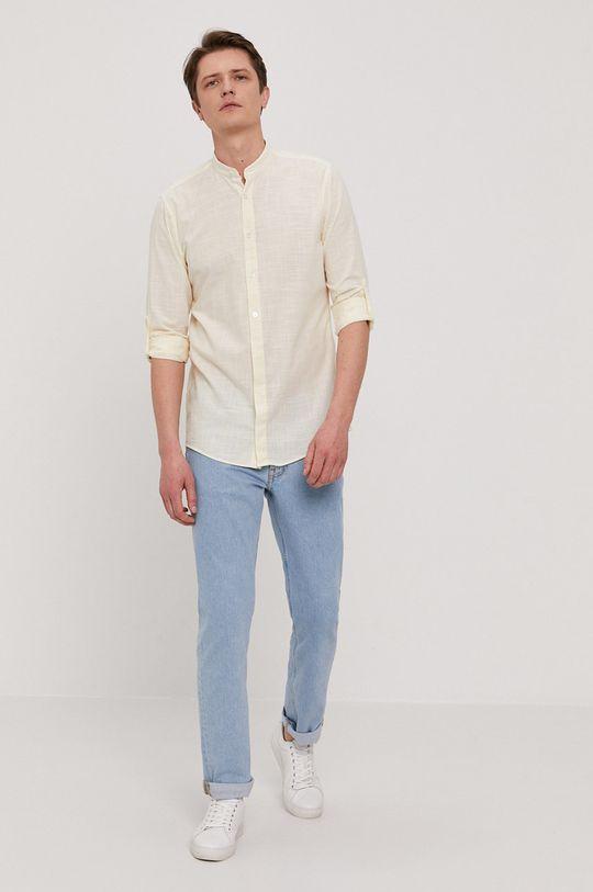 Strellson - Bavlnená košeľa  100% Bavlna
