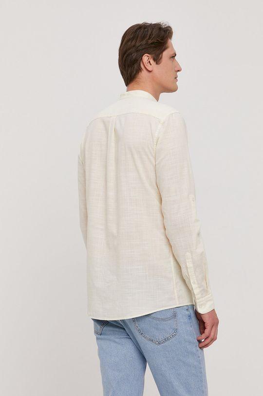 svetložltá Strellson - Bavlnená košeľa