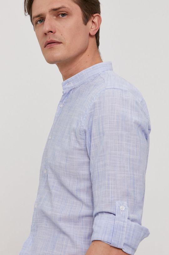 jasny niebieski Strellson - Koszula bawełniana Męski