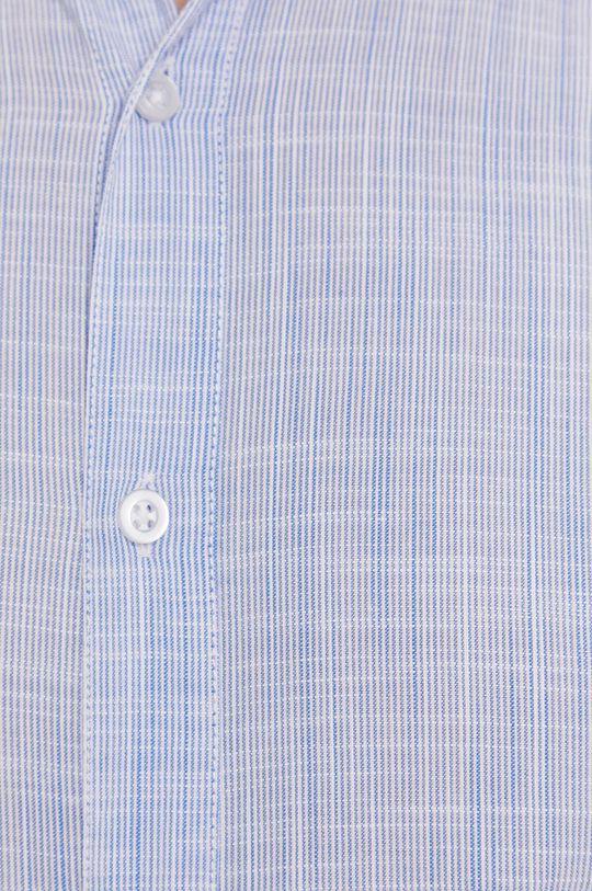 Strellson - Koszula bawełniana jasny niebieski