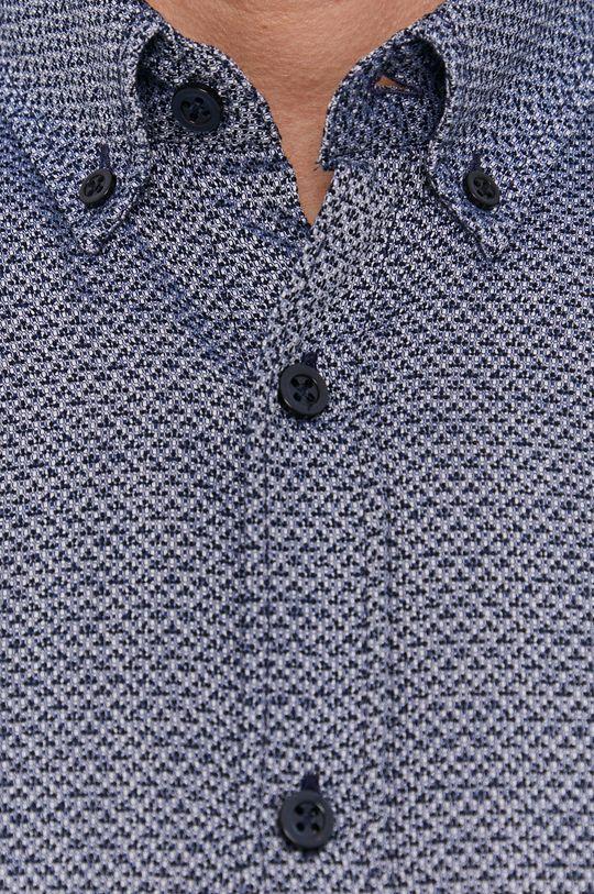 Strellson - Koszula bawełniana granatowy