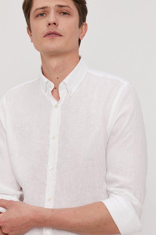 alb Strellson - Camasa De bărbați