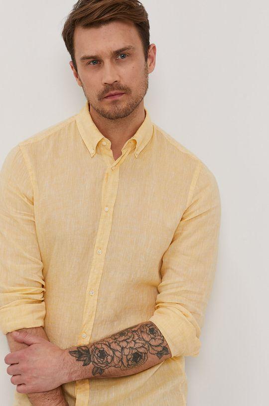 žltá Strellson - Košeľa Pánsky