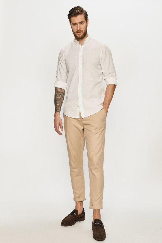 Strellson - Koszula 70 % Bawełna, 30 % Len